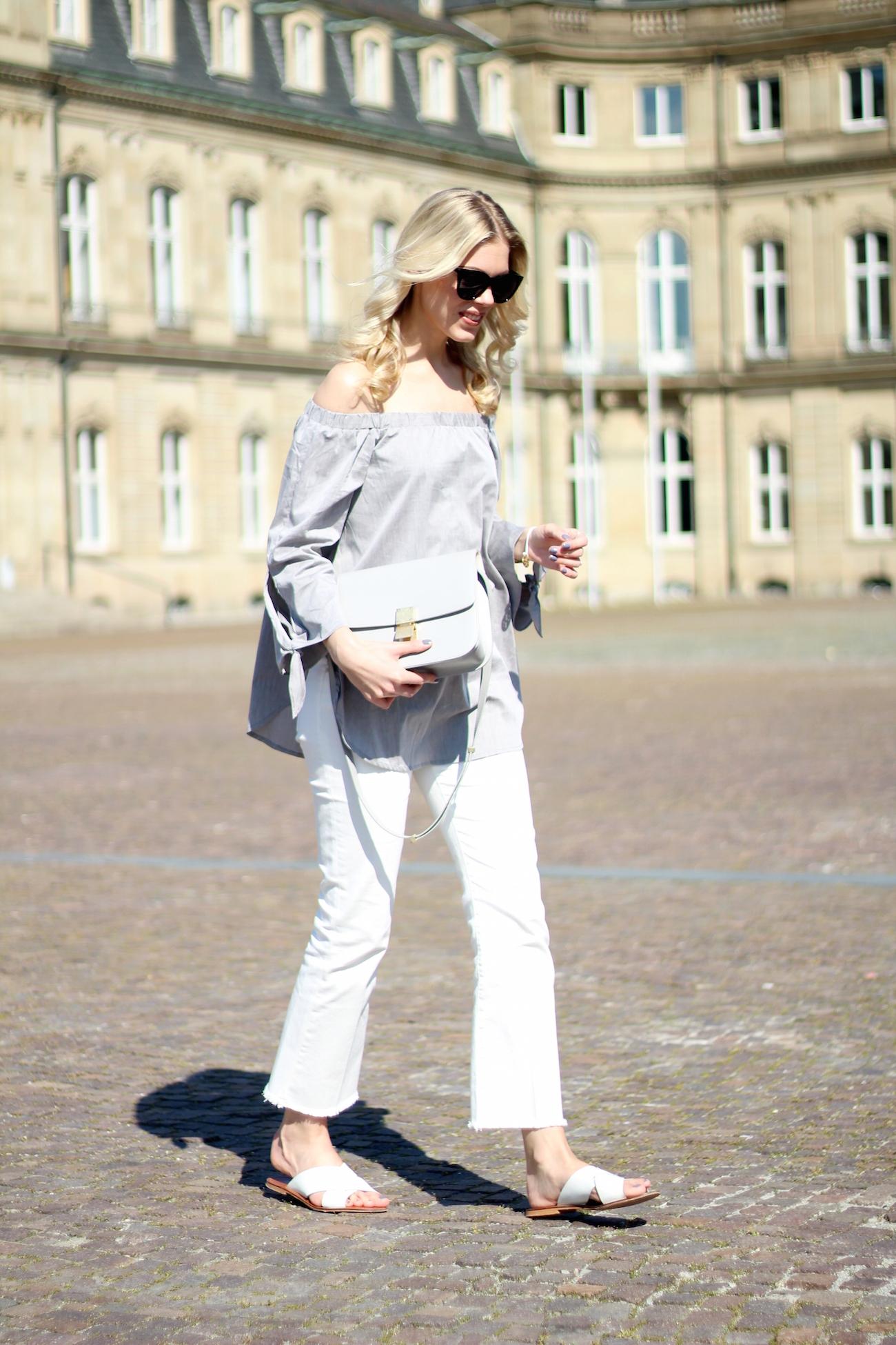 Zara-cropped-flare-jeans-off-shoulder-blouse-summer-vibes5