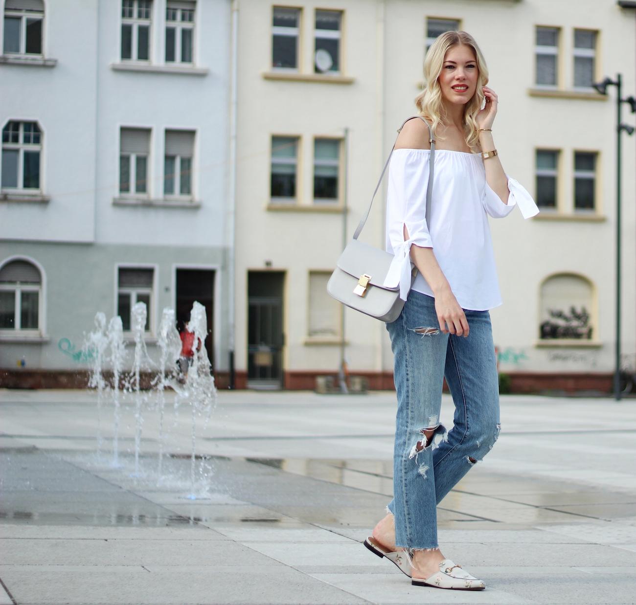 Zara-off-shoulder-top-gucci-slipper25