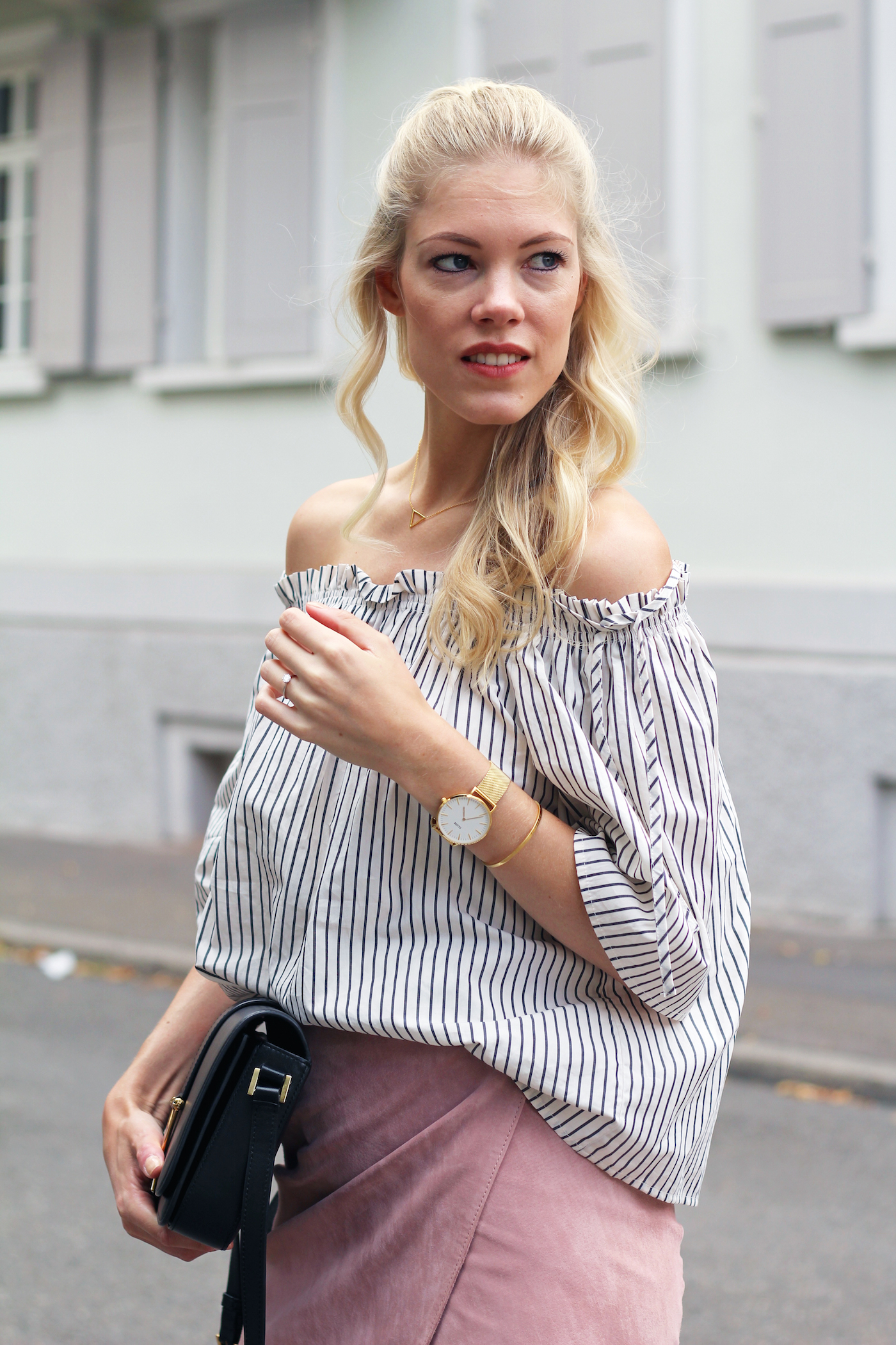 cluse_watches_stripes_suede_skirt
