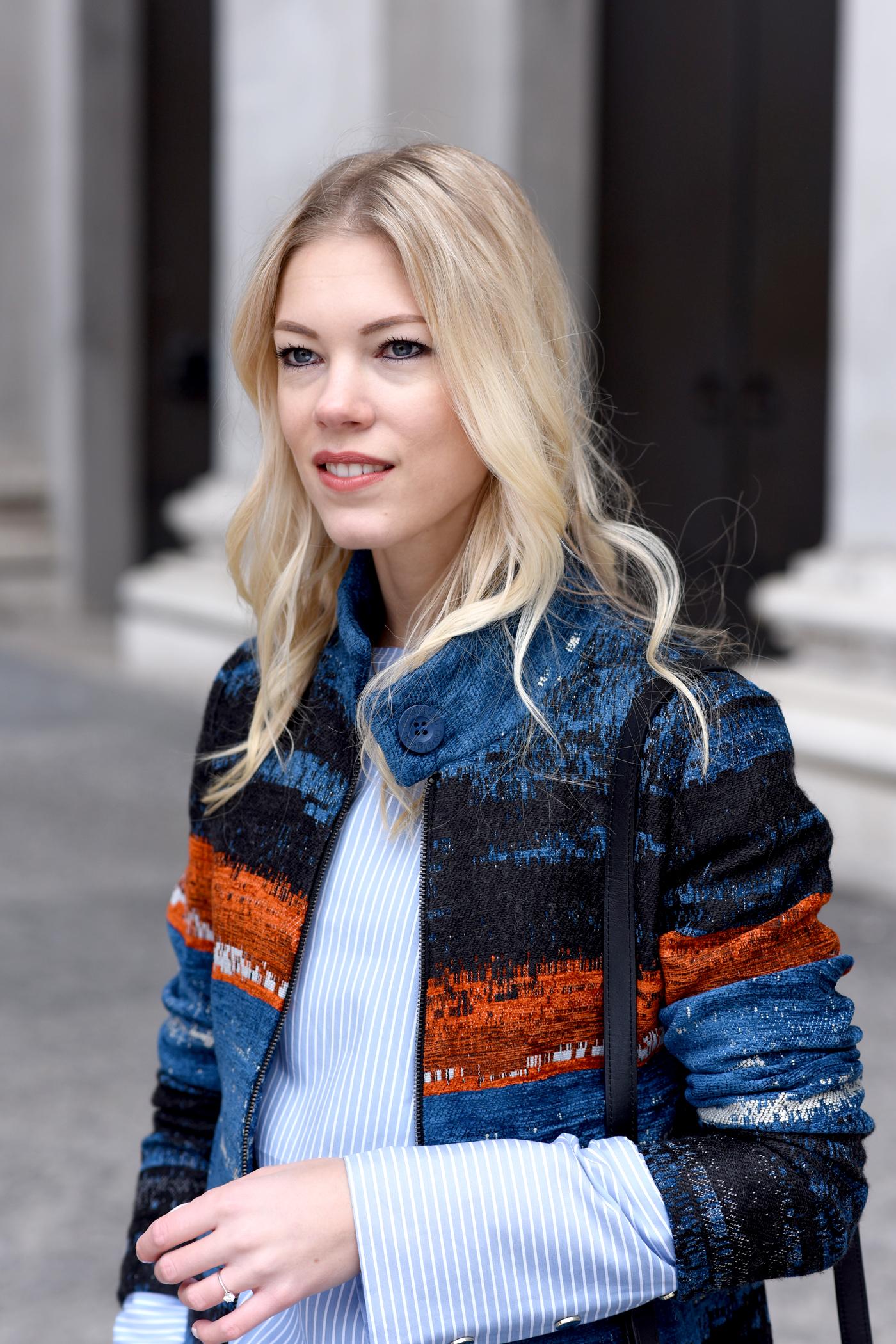 fashionblog_somehappyshoes_desigual_mantel_streifen