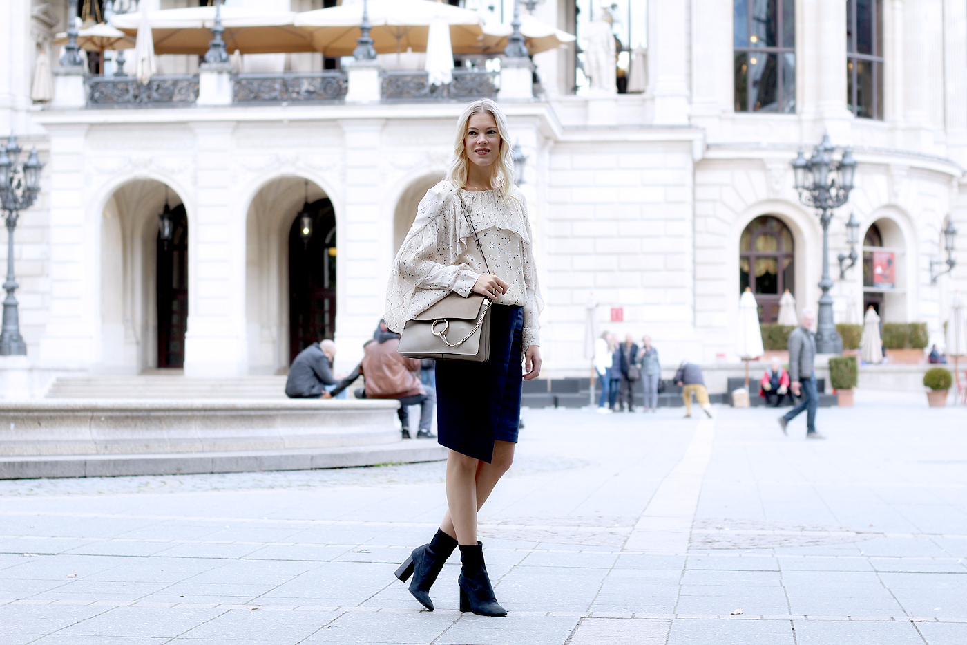 Pencil skirt, classy & casual