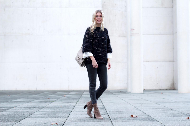 Glitter, boots & Chloé