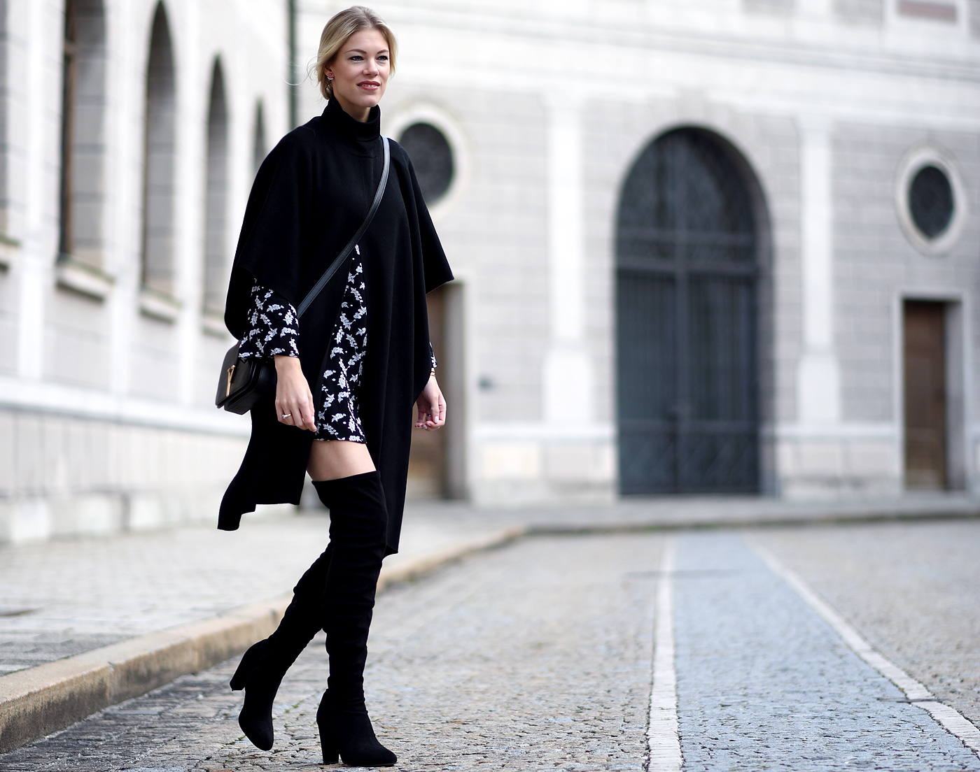 fashionblog_somehappyshoes_ganni_dress_asos_saint_laurent