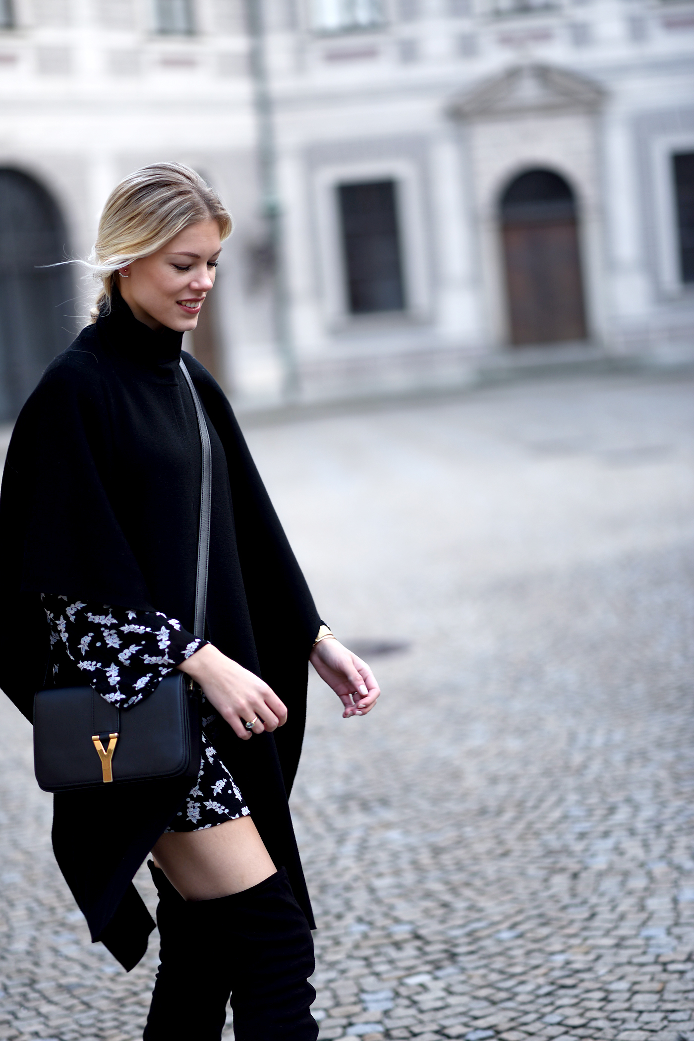 somehappyshoes_fashionblog_ganni_dress_overknees1