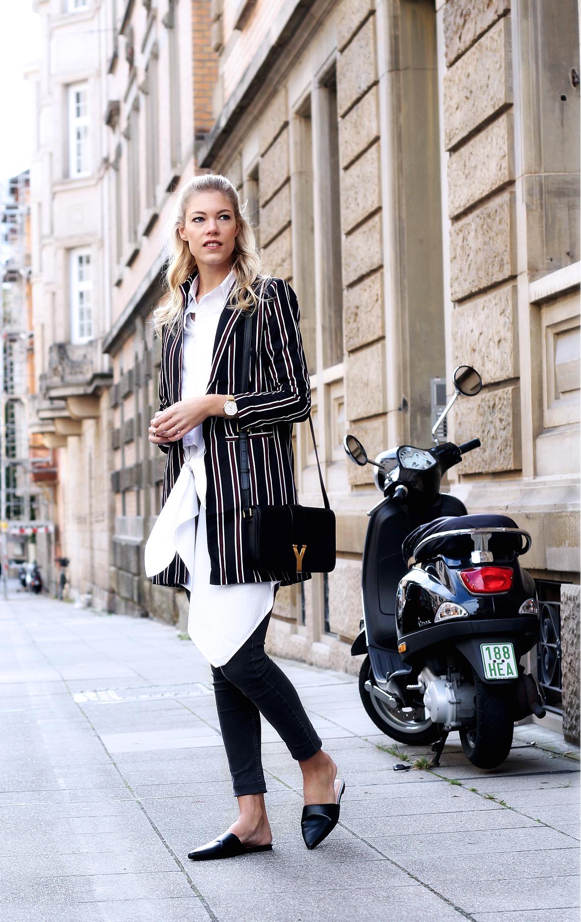 somehappyshoes_fashionblog_blazer_saintlaurent_blouse