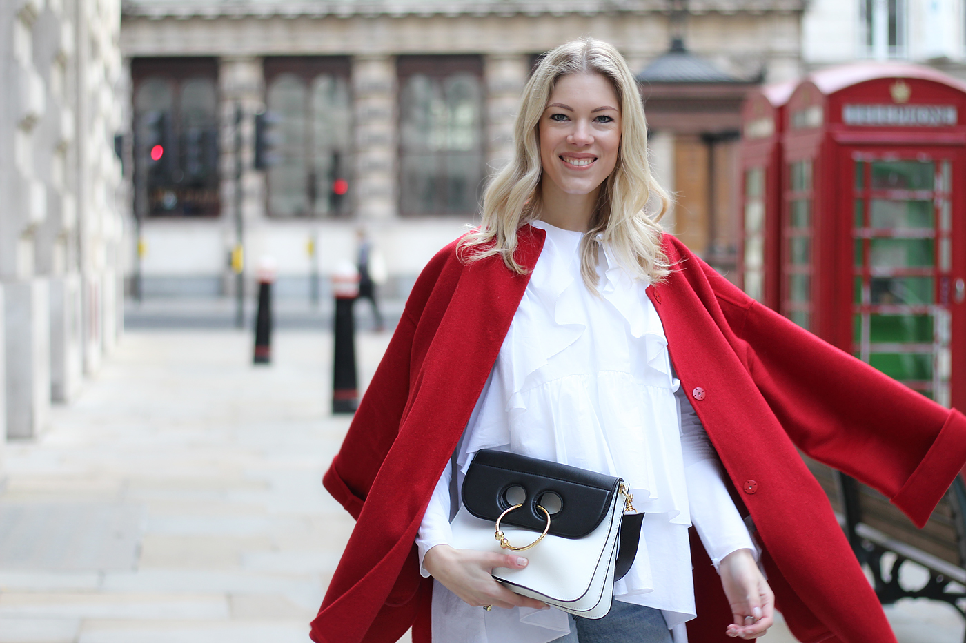 Red riding hood – #LFW Look 2, London