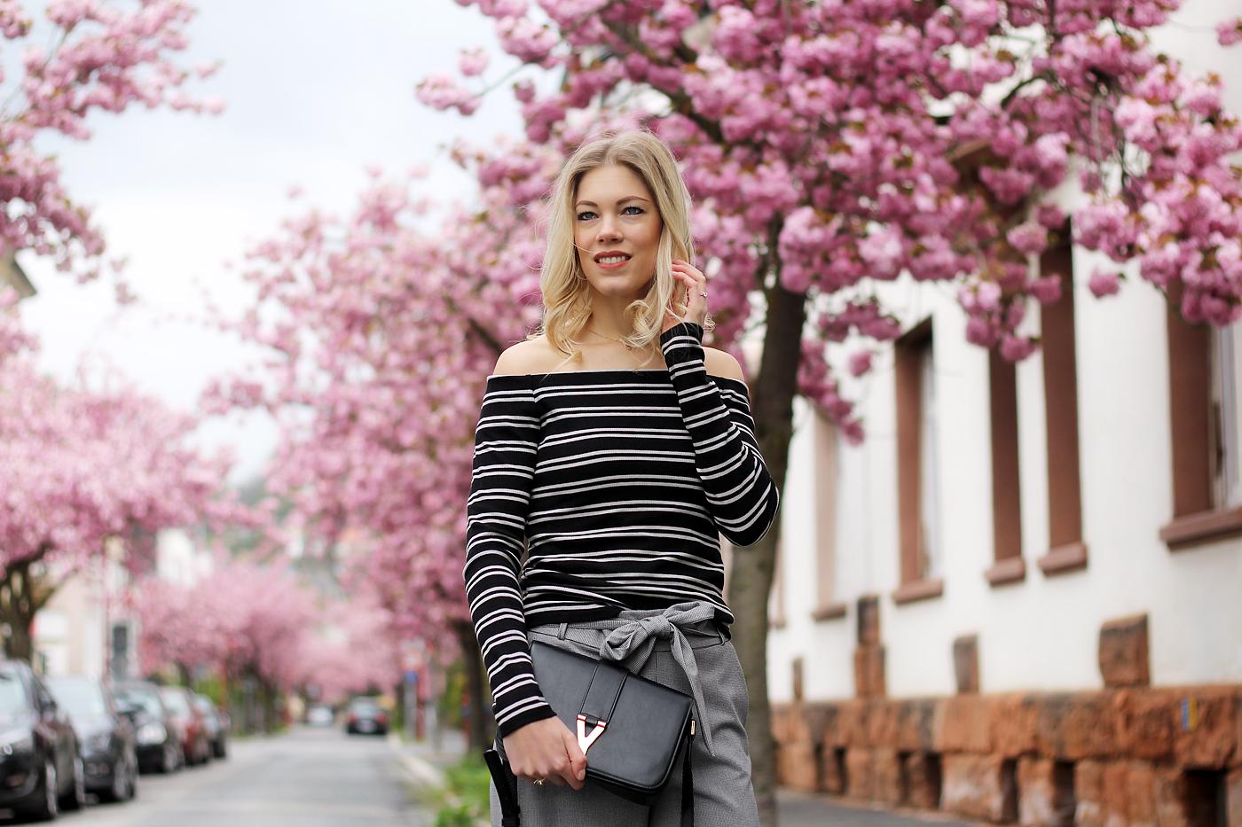 somehappyshoes_fashionblog_Zara_culotte_off_shoulder_top_stripes1