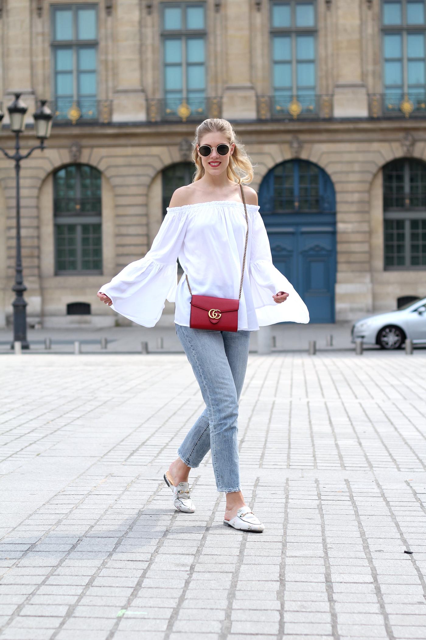 fashionblog_somehappyshoes_Gucci_Marmont_bag_slippers_Paris1