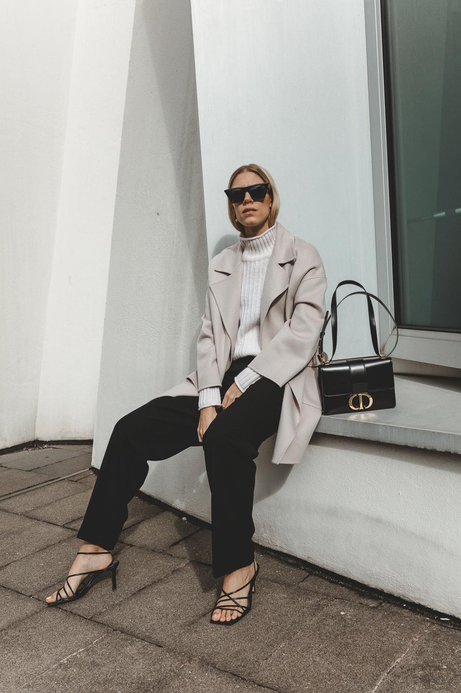 FTC Cashmere Kaschmirmantel Dior Bag
